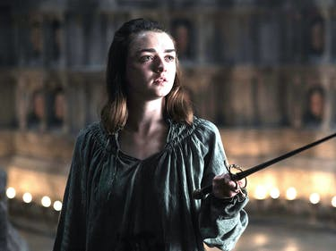 Maisie Williams as Arya Stark in 'Game of Thrones'