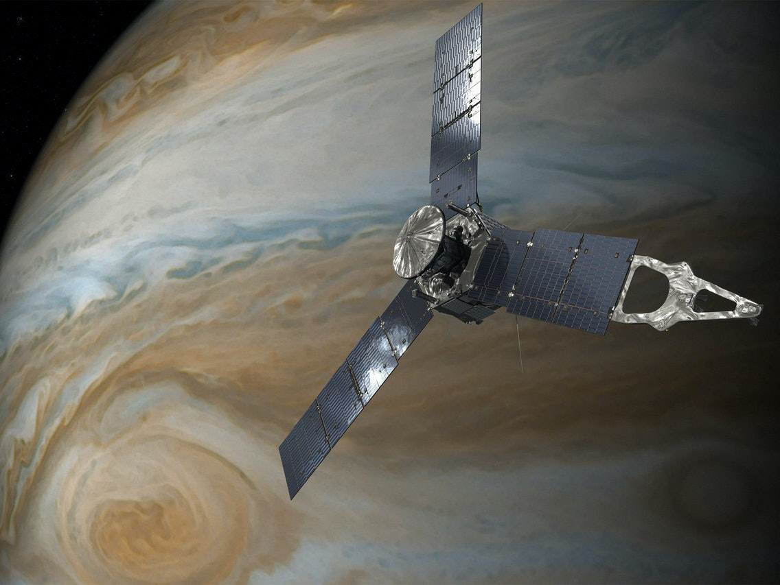 NASA's Juno Just Flew by Jupiter's Mysterious Clouds