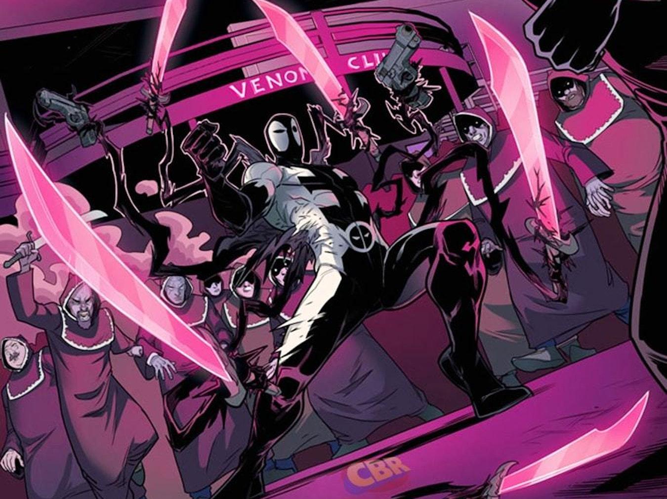 Preview from Cullen Bunn's Marvel Comic, Deadpool: Back in Black