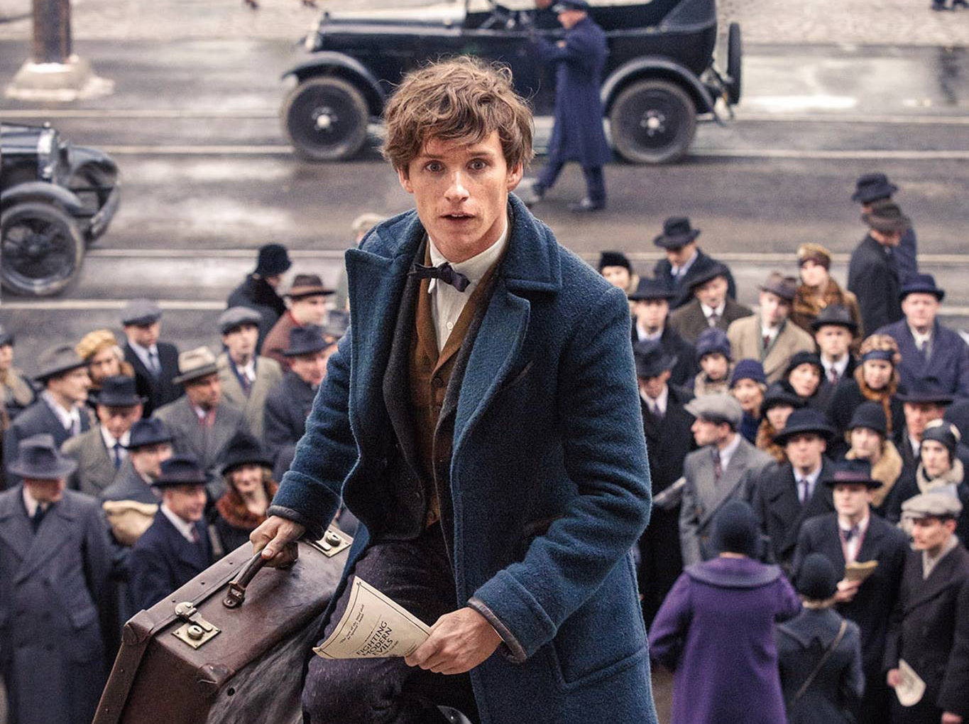Newt Scamander in JK Rowling's 'Fantastic Beasts and Where To Find Them'