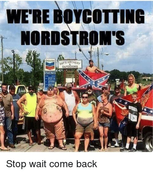 The internet struck back at Trump supporters' calls to boycott Nordstrom.