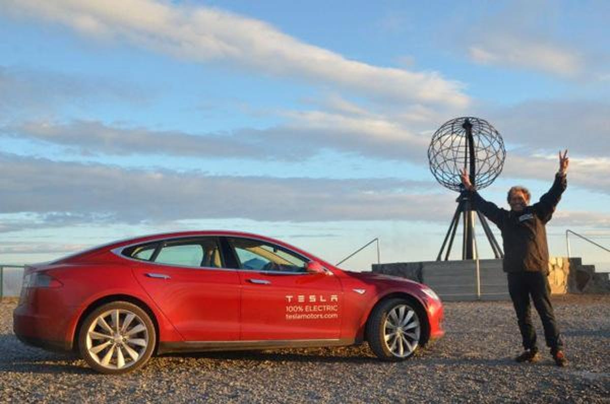 tesla model S norway