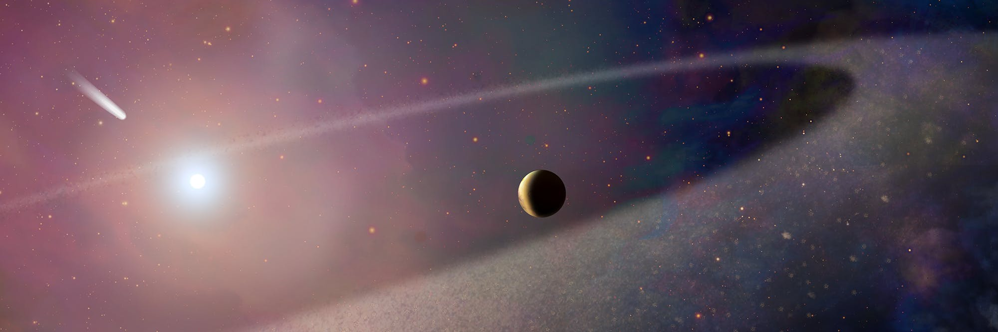 Hubble Witnesses Massive Comet-Like Object Pollute Atmosphere of a White Dwarf