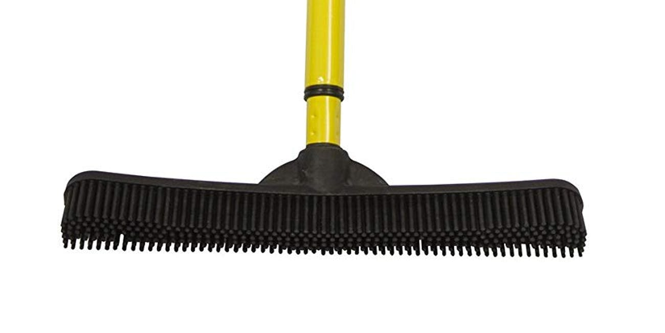 Evriholder Sw-250I-Amz-6, Furemover Pet Hair Removal Broom with Squeegee & Telescoping Handle