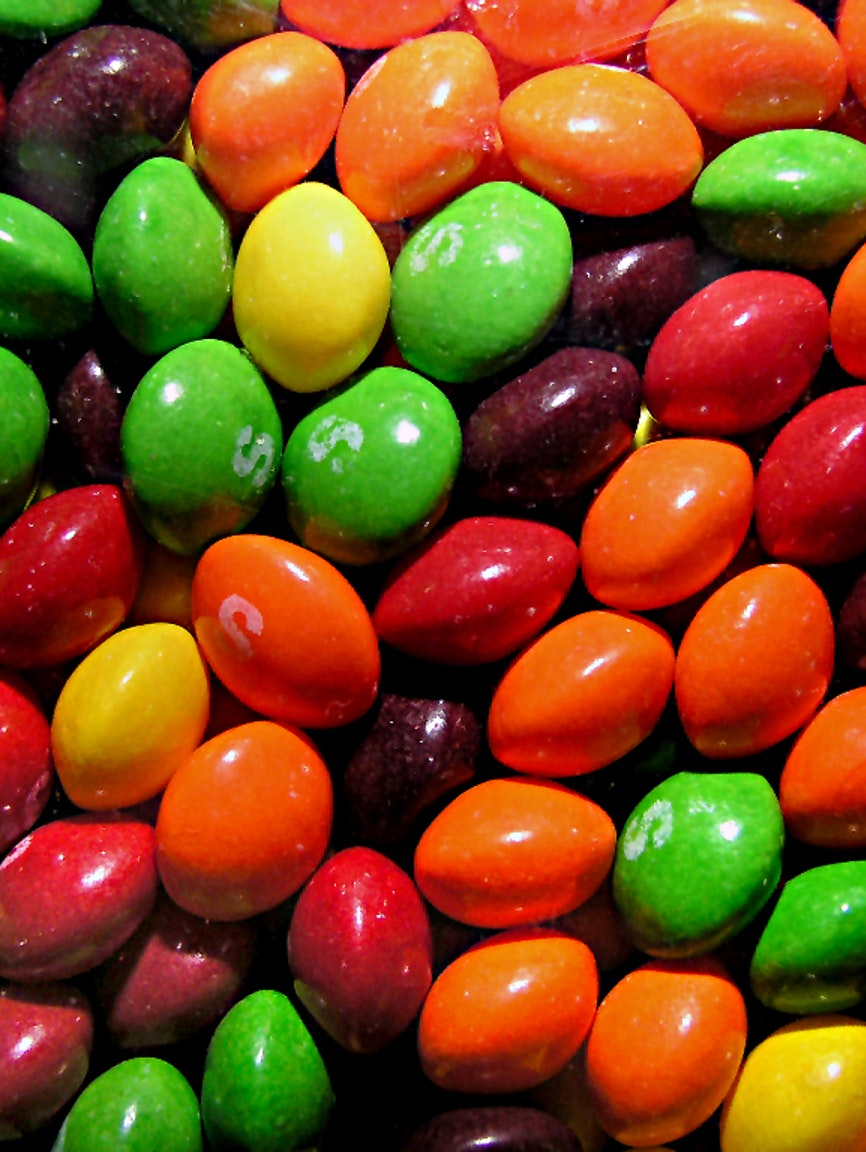 A handful of Skittles is a bad analogy for people.