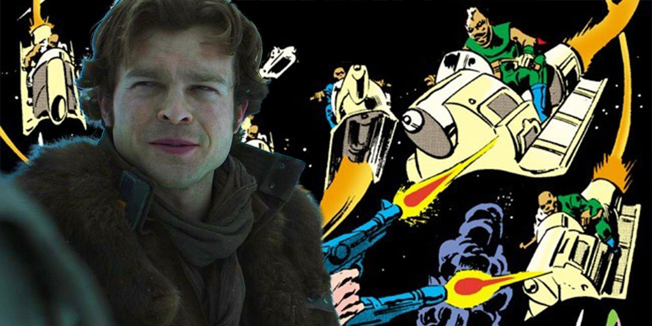 Han will encounter a very old enemy in 'Solo: A Star Wars Story'.