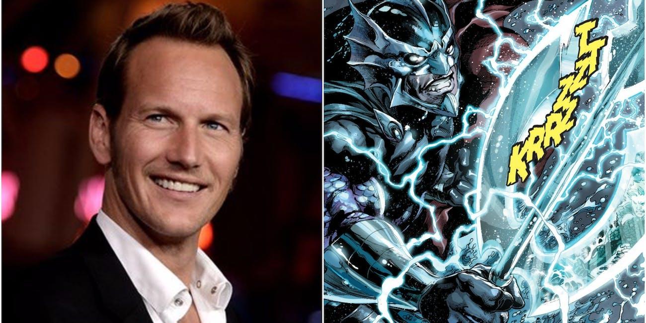 Ocean Master in DC Comics and Patrick Wilson
