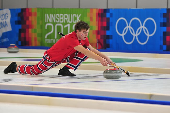 Martin Sesaker at the 2012 Youth Winter Olympics
