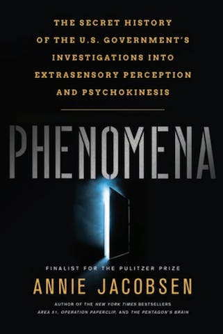 "The cover of the book ""Phenomena."""