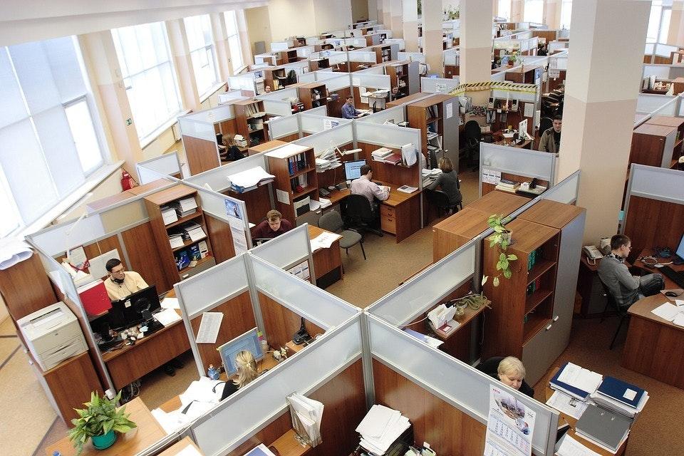 Open floor office Open Plan Open Offices Inverse Open Floor Plan Offices Make Us Healthier And Less Stressed New