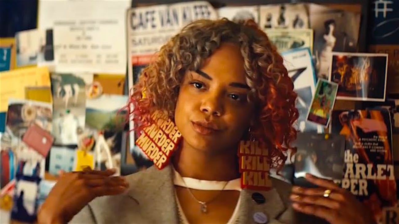 Detroit's earrings in 'Sorry to Bother You' are nothing short of iconic.