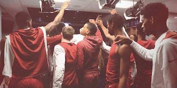 NCAA basketball Arkansas