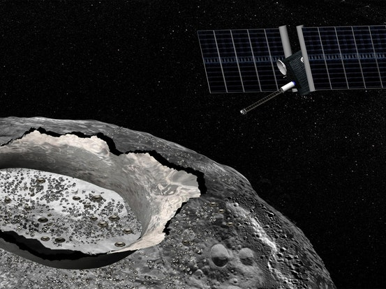 Scientists Just Found Water on Metallic Asteroid 16 Psyche