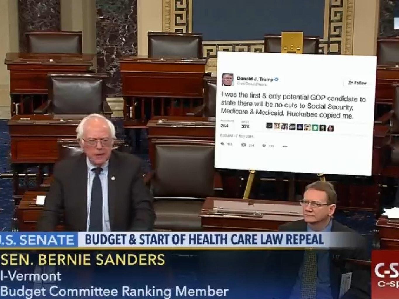 13 Things Bernie Sanders Could Have Presented Instead of a Trump Tweet