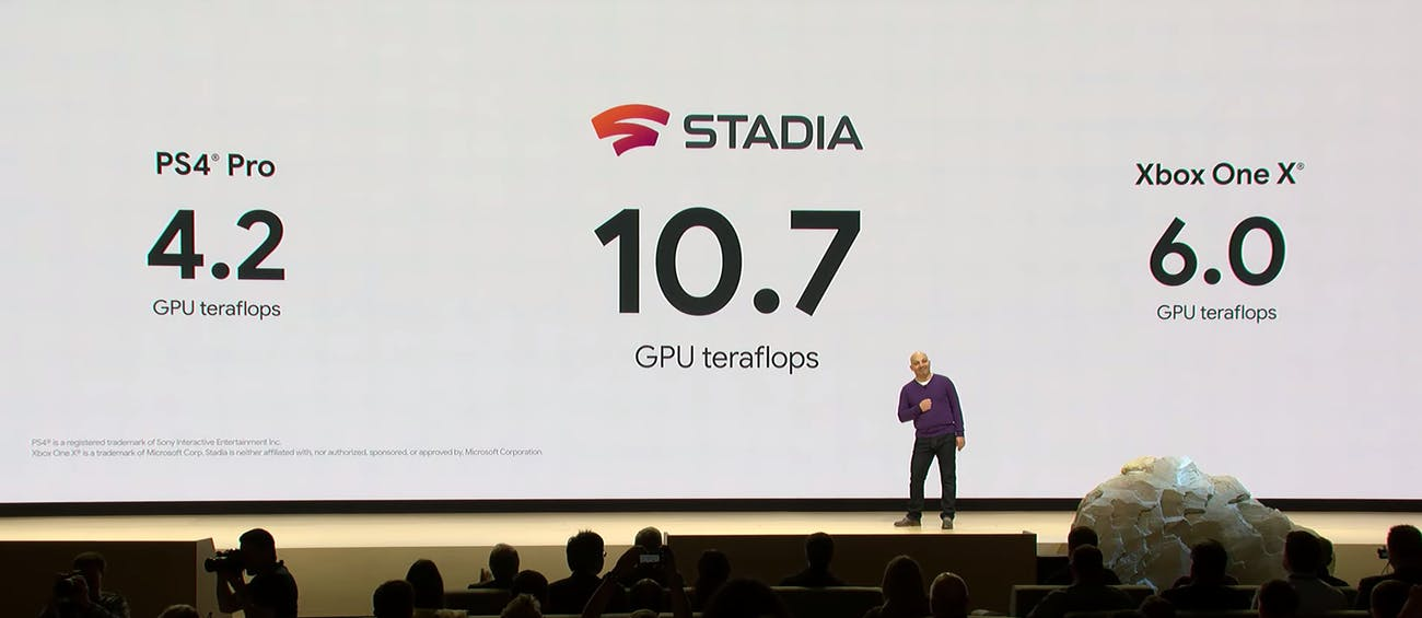 google stadia announcement