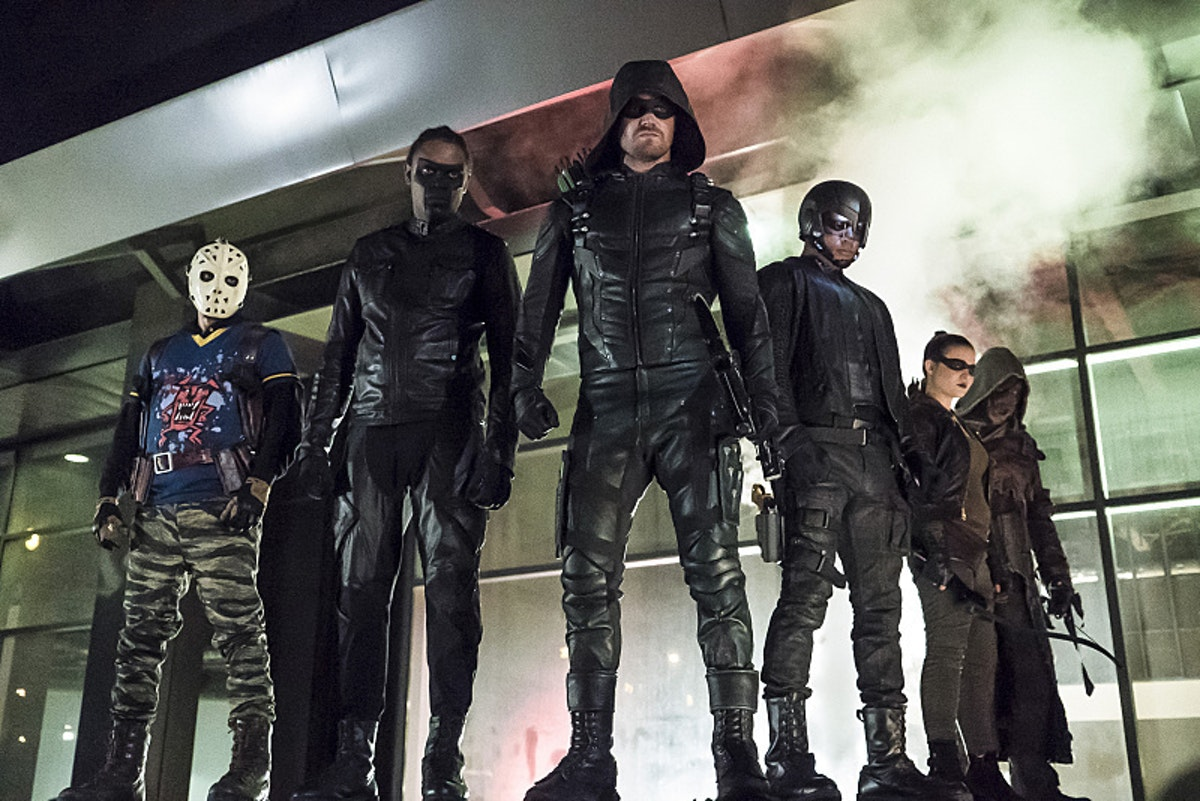Arrow Ragman Mr. Terrific Spartan Artemis Wild Dog