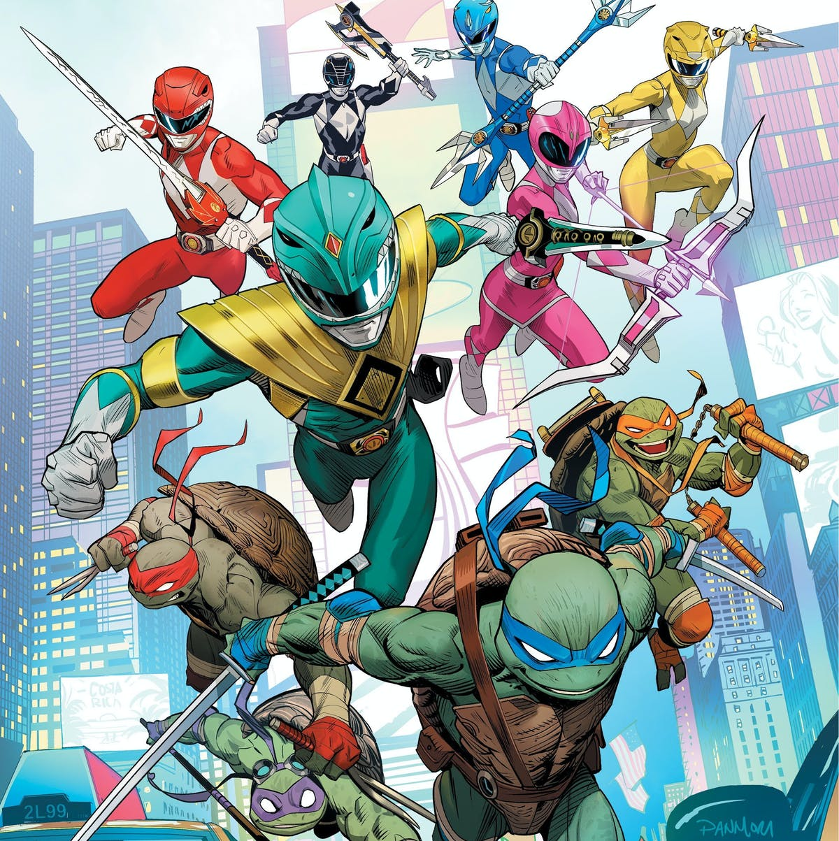 "Power Rangers/Ninja Turtles crossover does more than ""smash toys together"""