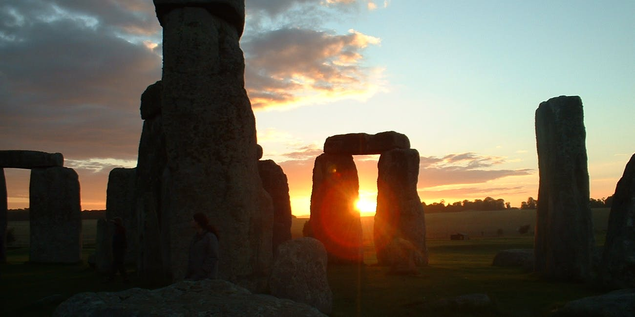 Sunset at Stonehenge
