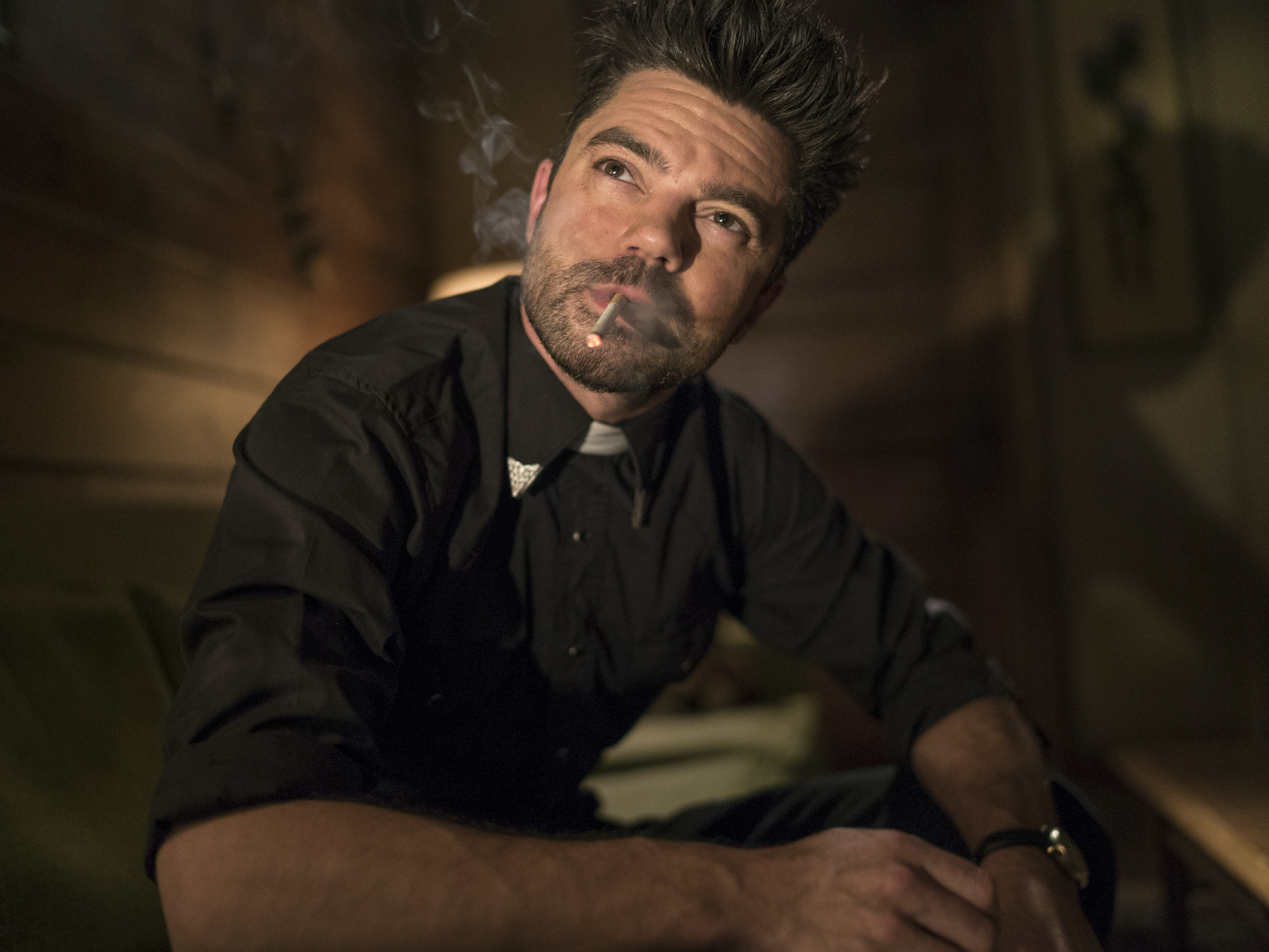 Jesse Seizes Genesis as 'Preacher' Series Diverges From the Comics