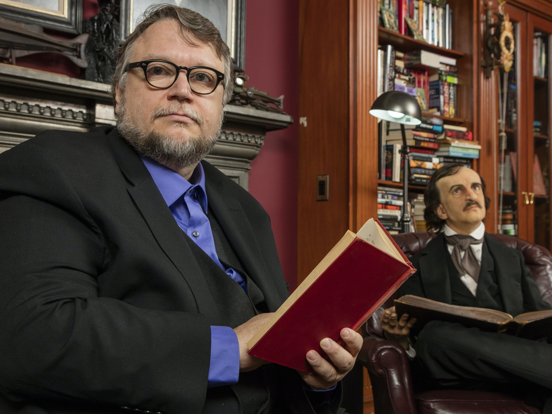 Guillermo Del Toro at the Bleak House