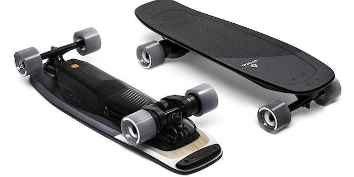 Boosted x Electric Mini Skateboard