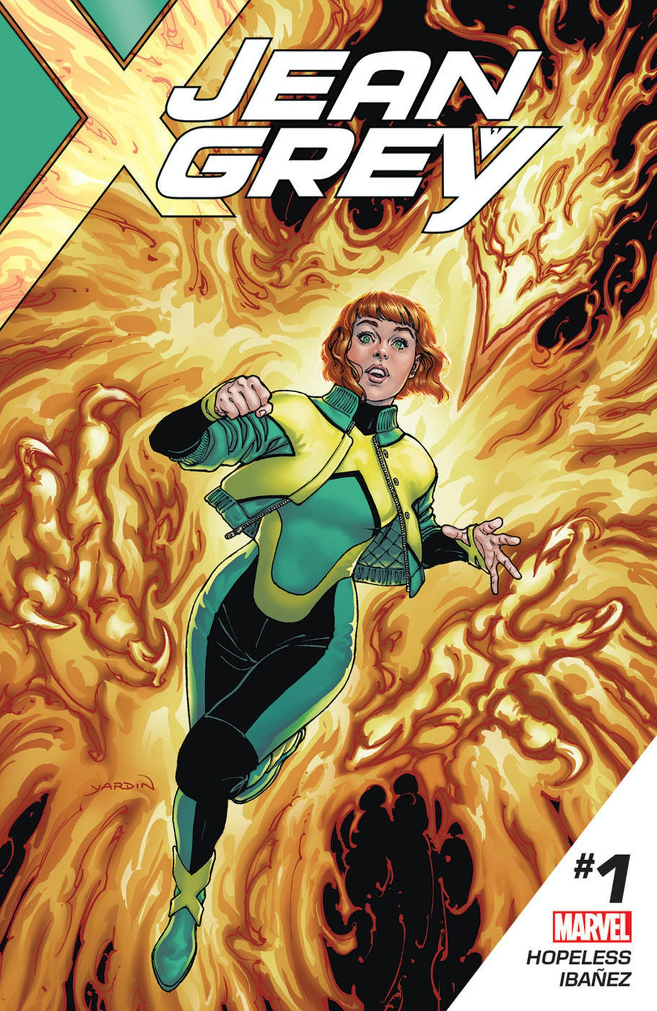 Cover for Jean Grey #1 from Marvel Comics