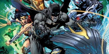 DC Dark Knights Justice League