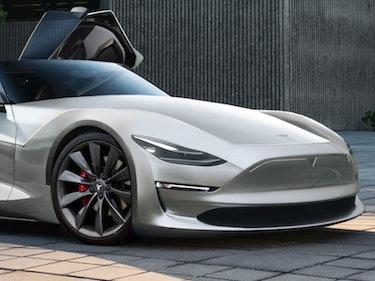 Raindrop, Drop-Top: Elon Musk Teases New Tesla Roadster