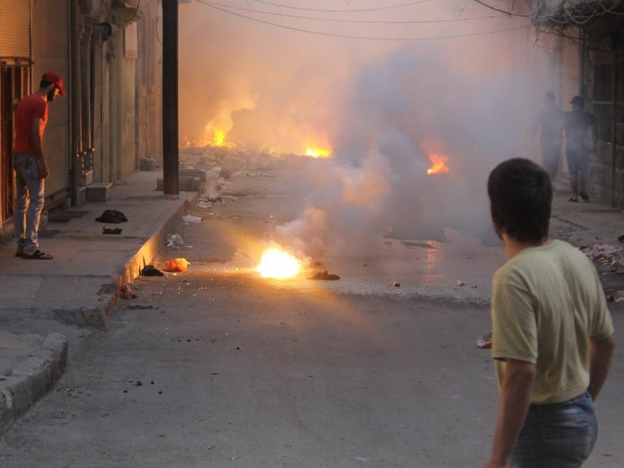 What Makes the Fireballs Falling on Syria So Horrific