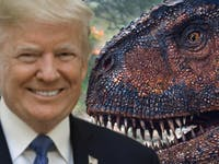 Jurassic World Donald Trump
