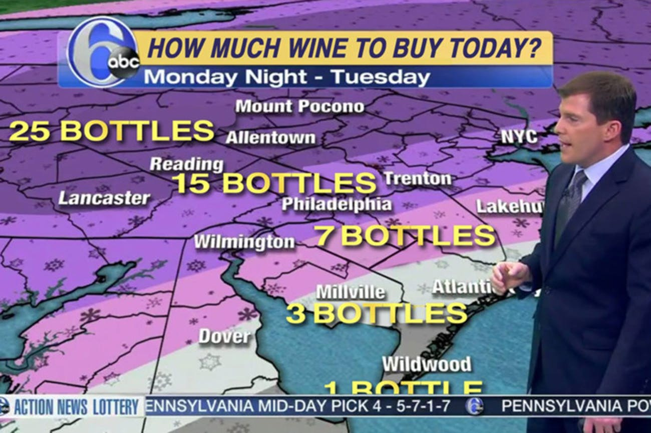 A Mathematically Accurate Wine Forecast For Winter Storm Stella