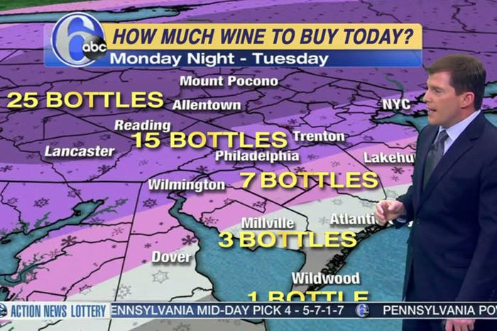 Somers's wine forecast is hardly scientific.