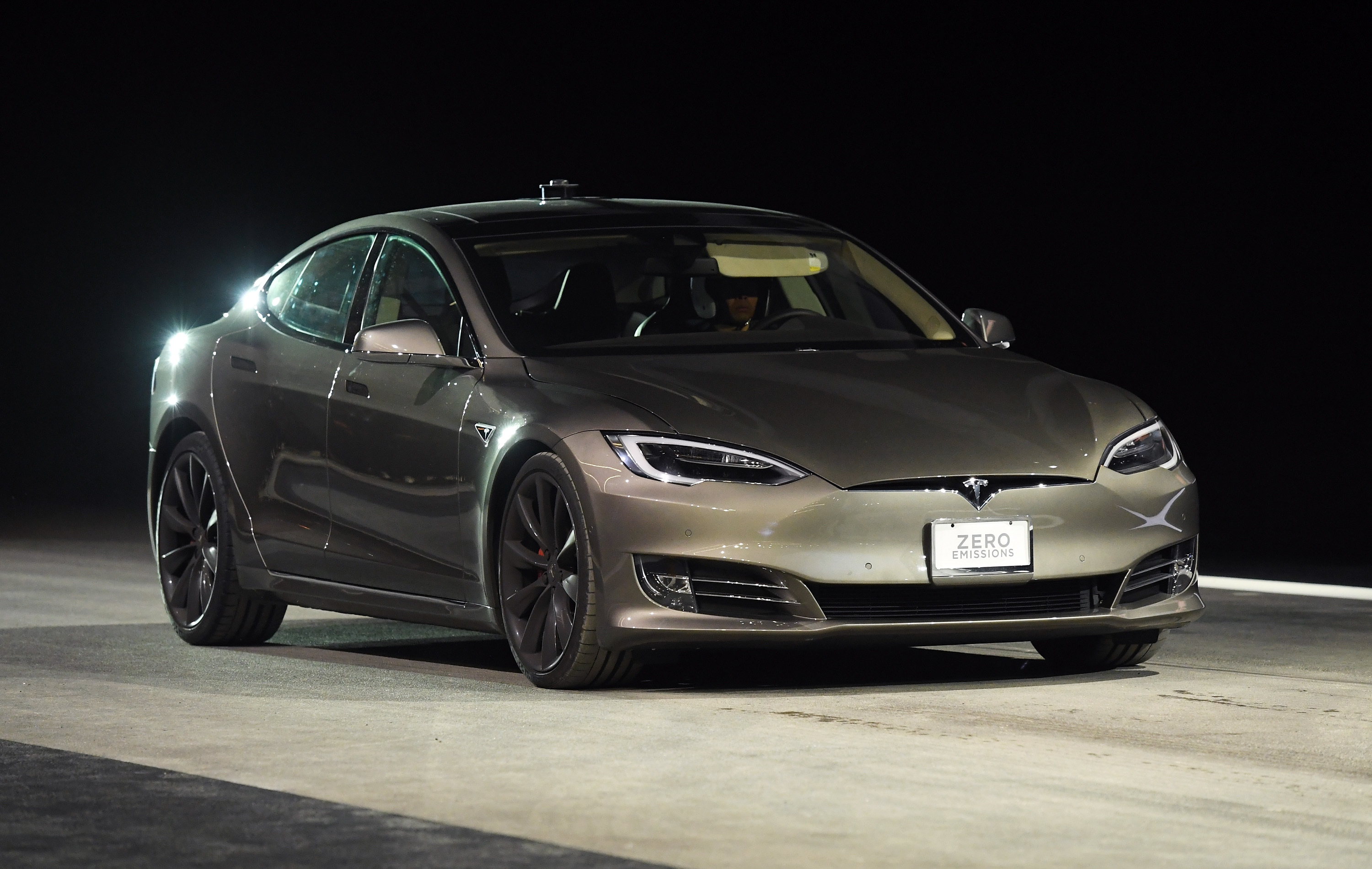Cars like the Tesla Model S already use cellular connectivity, but self-driving cars will increase demand for on-the-go connections.