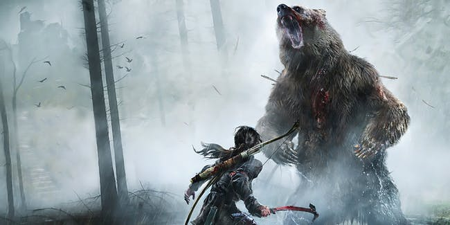 Rise of the Tomb Raider from Crystal Dynamics and Square-Enix