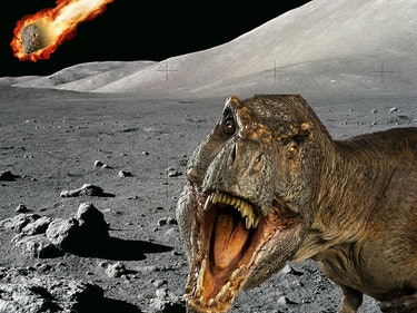 The Key to Dinosaur Extinction Might Be Hidden on the Moon
