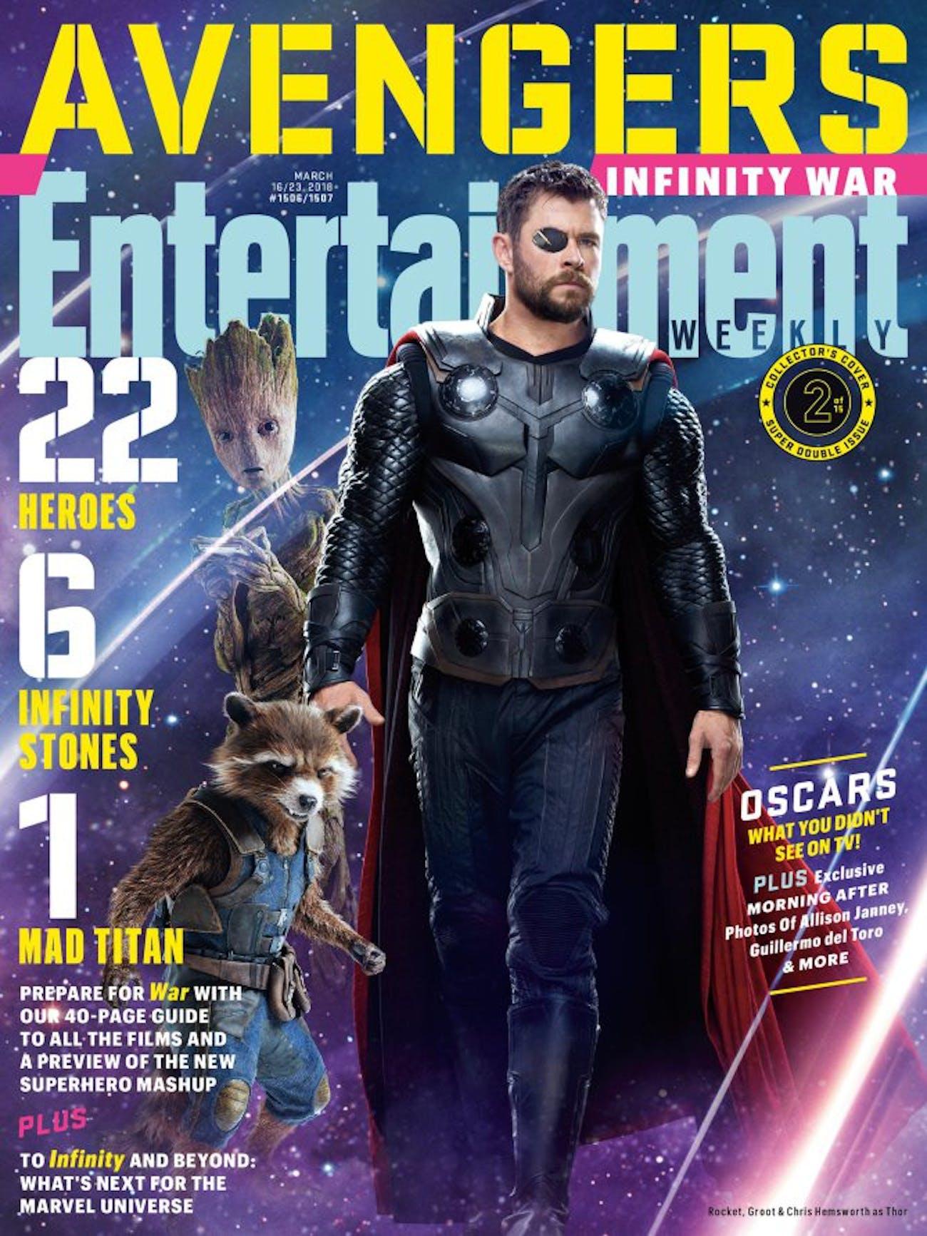 Thor Infinity War Avengers