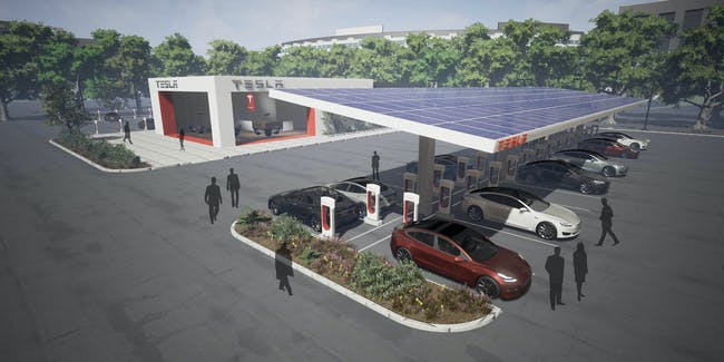 Tesla's proposed supercharger upgrades.