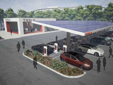 Tesla's Adding More Superchargers to Keep Up With the Model 3