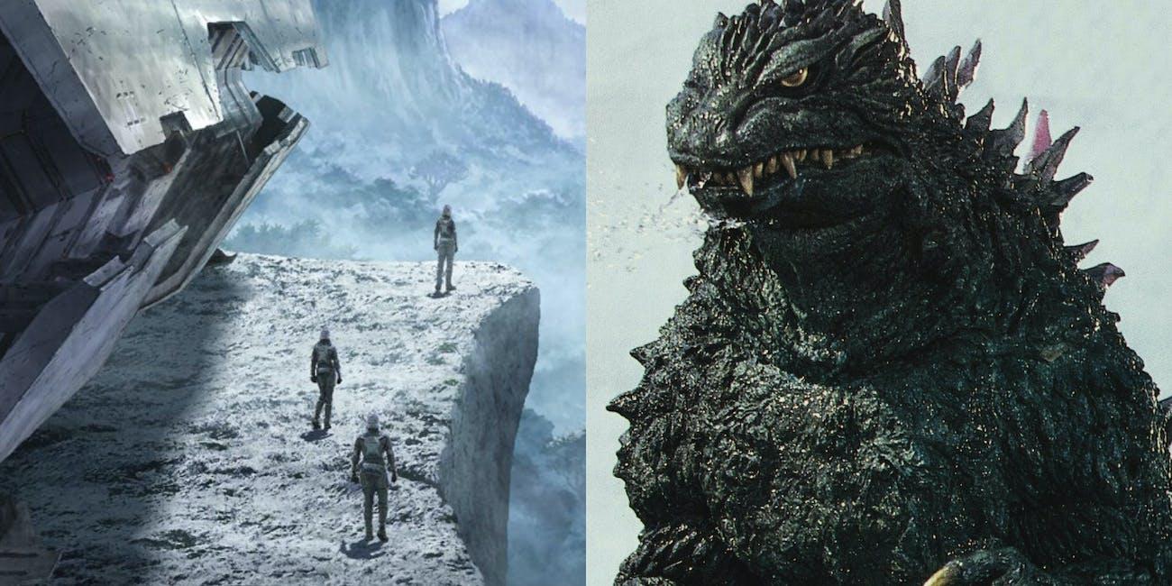 Godzilla Anime