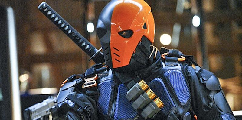 Arrow Deathstroke Ben Affleck Batman