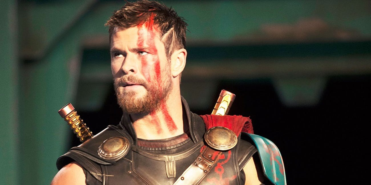 Thor in 'Thor: Ragnarok'.