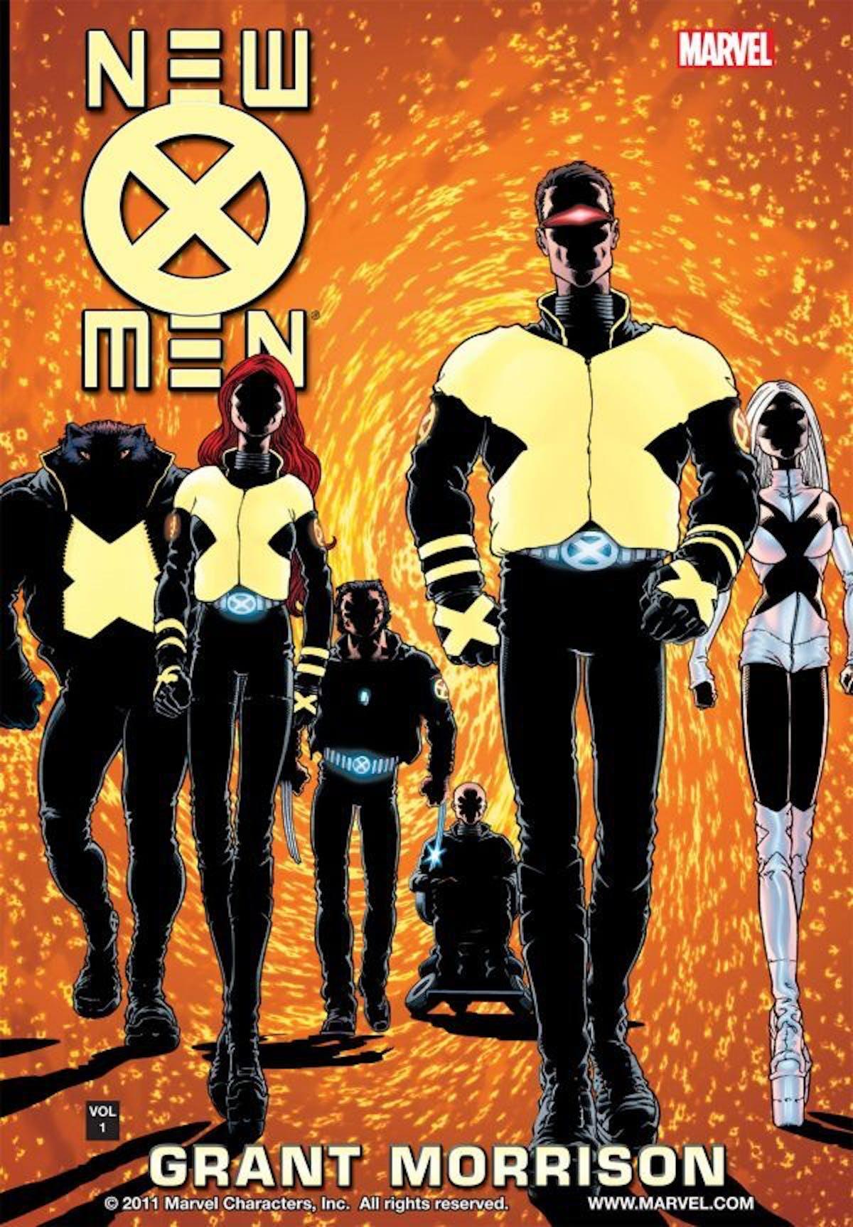 Frank Quietly Grant Morrison New X-Men