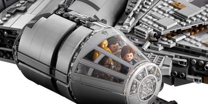 star wars millennium falcon lego