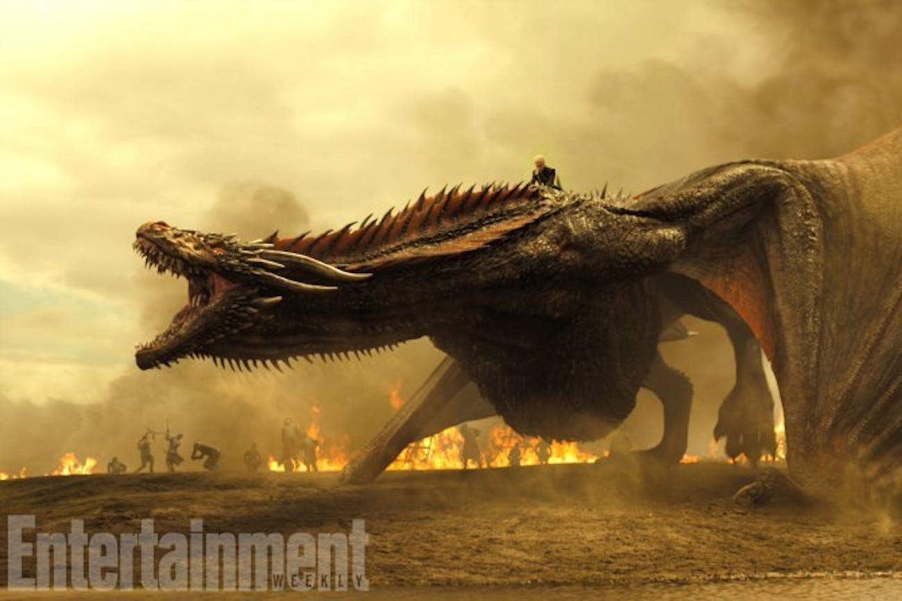 Daenerys Targaryen in Game of Thrones Season 7