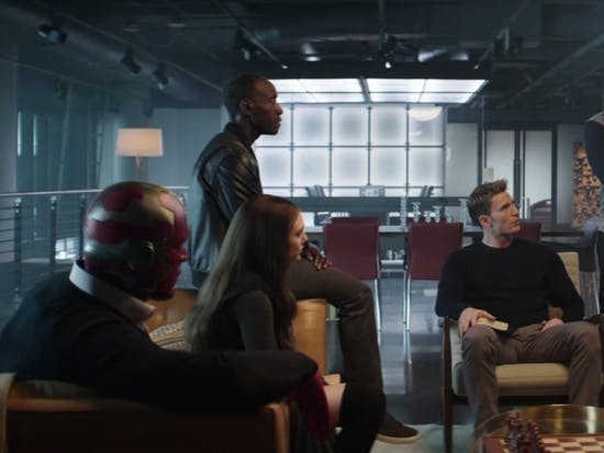 How Much Are Vision's Sweater and Clothes In This 'Captain America: Civil War' Clip?