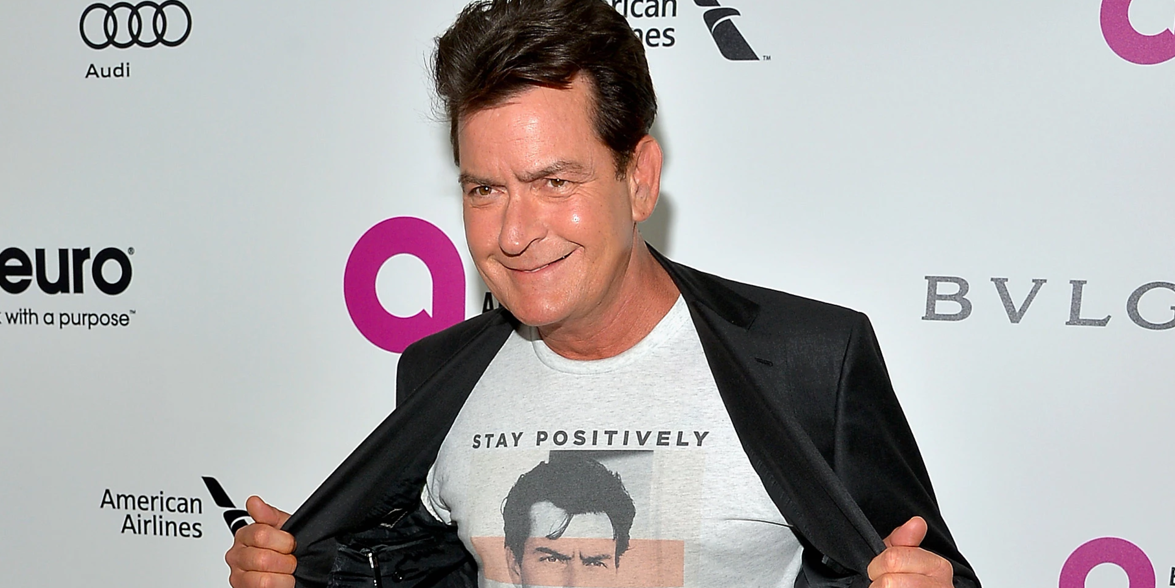Charlie Sheen is fighting HIV with an experimental drug.