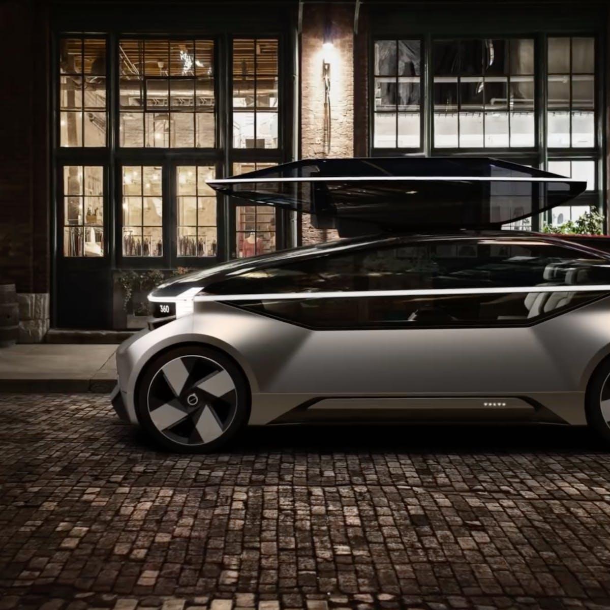 Video of Volvo Autonomous Driving Bed Concept Shows Self-Driving Car Plans