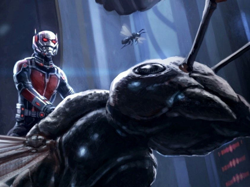 Ant-Man and Atom are the way of the future.