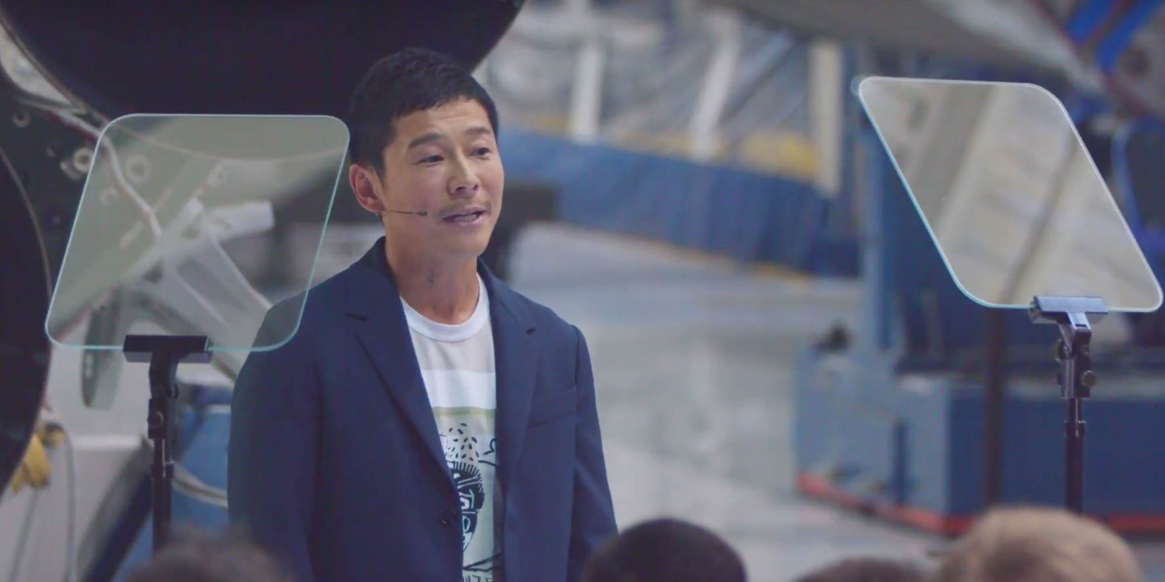 Yusaku Maezawa Is Revealed as SpaceX's First Lunar Passenger