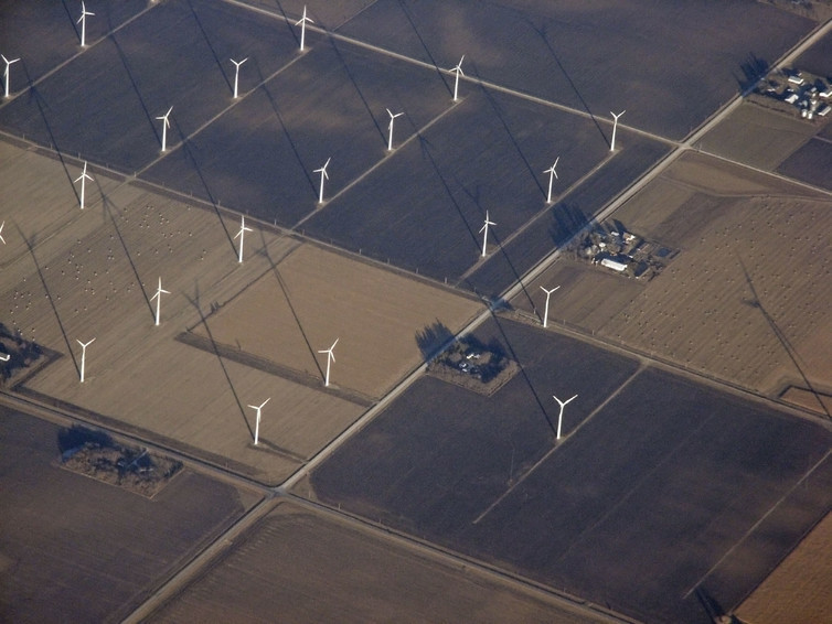 In terms of framing, using wind energy is a way to improve local air quality and save money on energy, while also reducing emissions from fossil fuels.